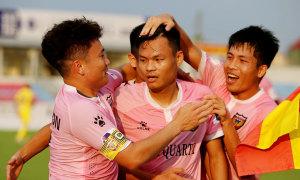 Hà Tĩnh thắng trận thứ tư liên tiếp
