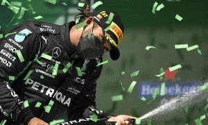 Lewis Hamilton ngược dòng tại Portimao