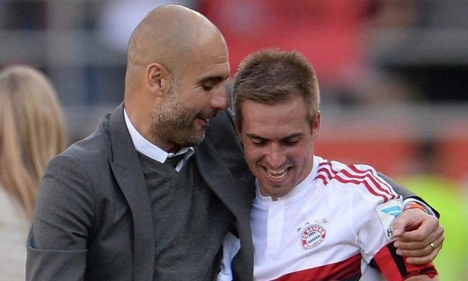 Philipp Lahm: 'Guardiola là bạn, là đầy tớ của cầu thủ'