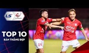 Top 10 bàn đẹp vòng 12 V-League