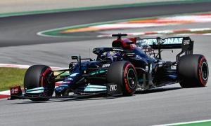 Hamilton thắng chặng Tây Ban Nha