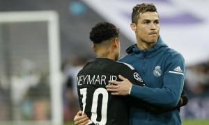 Neymar muốn thi đấu cùng Ronaldo