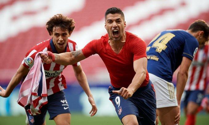 Suarez giữ Atletico trên đỉnh La Liga