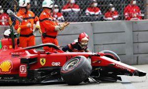 Leclerc giành pole dù gặp nạn ở Monaco