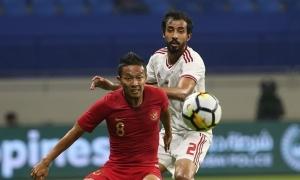 UAE thắng dễ Indonesia