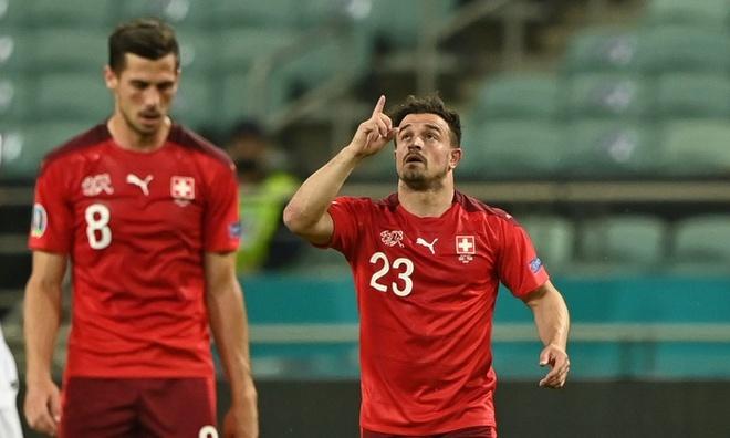 Thụy Sĩ 3-1 Thổ Nhĩ Kỳ: Tuyệt phẩm sút xa của Shaqiri
