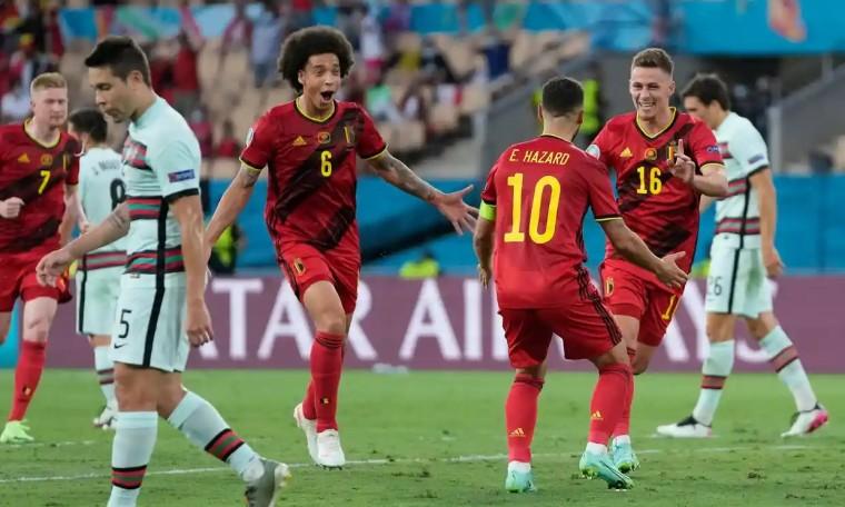 Bỉ 1-0 Bồ Đào Nha: Thorgan Hazard ghi tuyệt phẩm