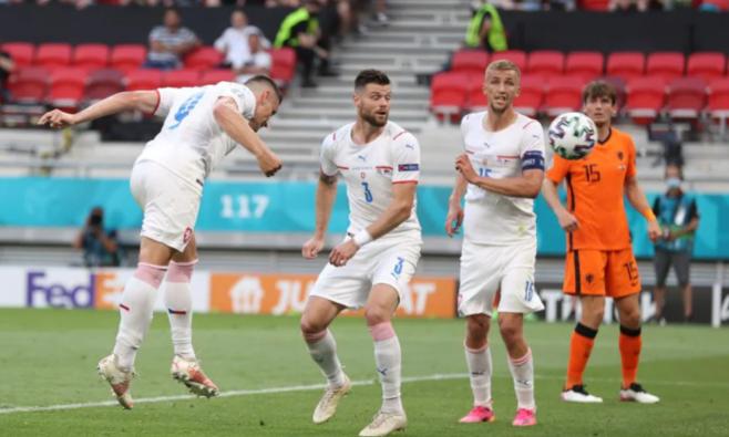 Hà Lan 0-2 CH Czech: Schick ấn định chiến thắng