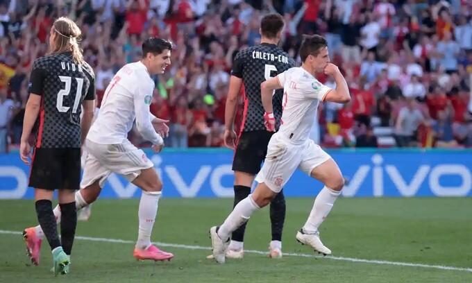 Croatia 3-5 Tây Ban Nha: Morata tạo bước ngoặt