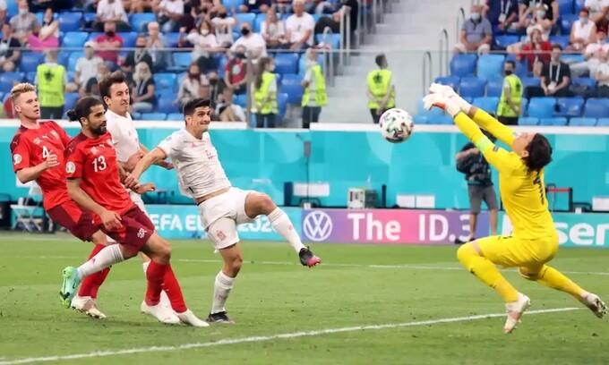 Thụy Sĩ 1-1 (1-3 pen) Tây Ban Nha