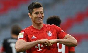 Man City theo đuổi Lewandowski