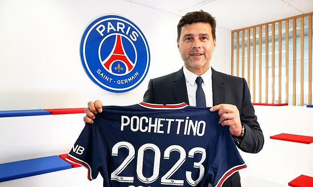 Pochettino gia hạn với PSG
