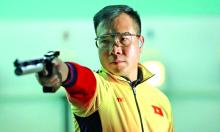 Hoàng Xuân Vinh bị loại sớm ở Olympic 2020