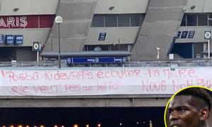 CĐV của PSG phản đối Pogba