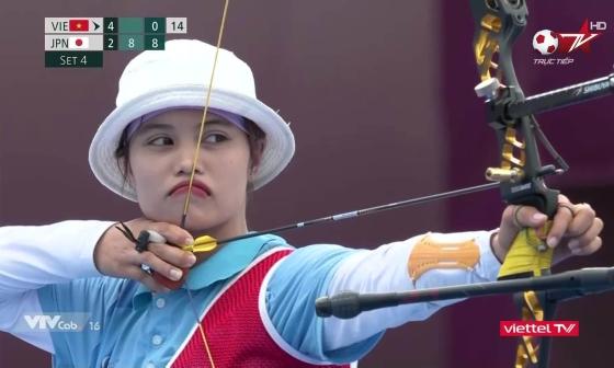 Ánh Nguyệt dừng bước ở Olympic