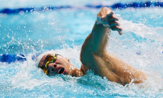 Huy Hoàng về thứ năm vòng loại 1.500m