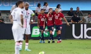 PSG thua ở Siêu Cup Pháp