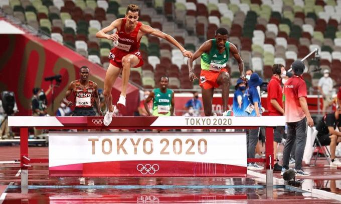 Kenya mất HC vàng 3000m vượt chướng ngại vật sau 8 kỳ Olympic
