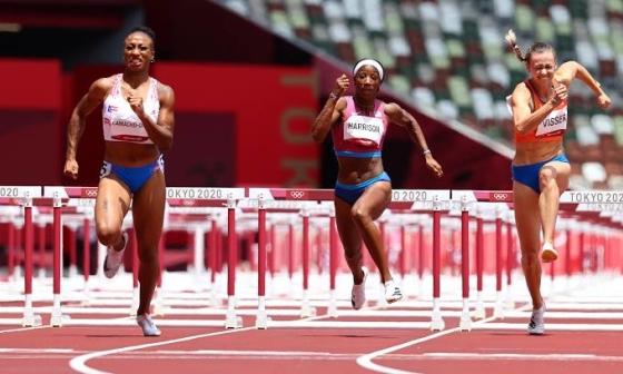 VĐV Puerto Rico giành HC vàng 100m vượt rào nữ