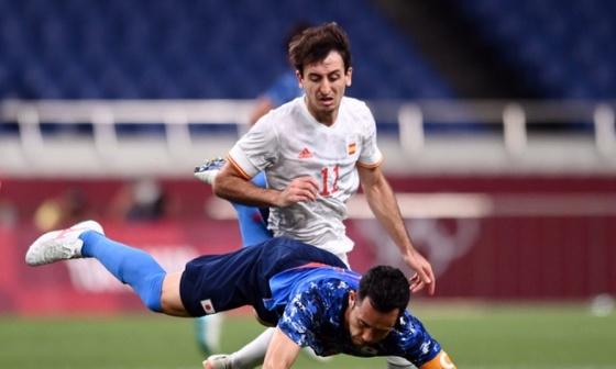 Nhật Bản 0-1 Tây Ban Nha