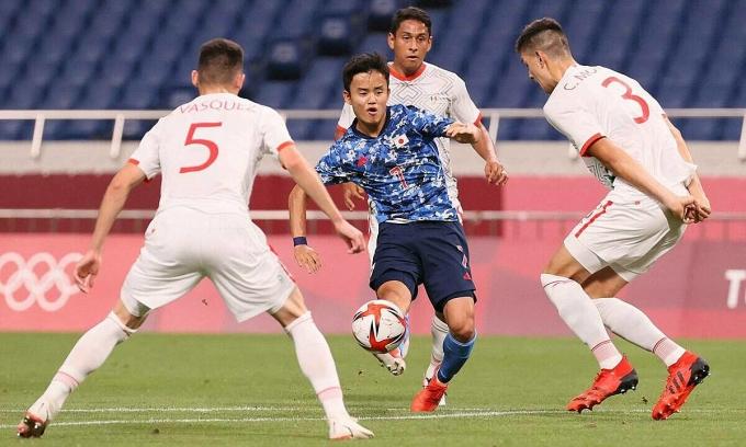 Bóng đá Nhật Bản - đến lúc hưởng trái ngọt ở Olympic?