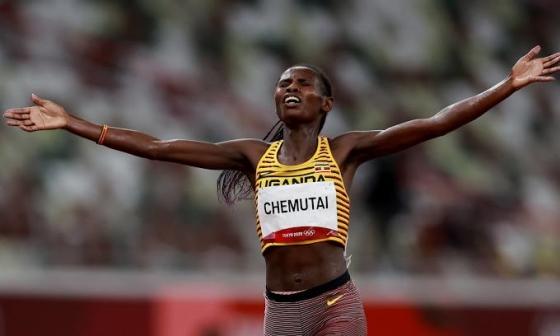 VĐV Uganda giành HC vàng 3000m vượt chướng ngại vật