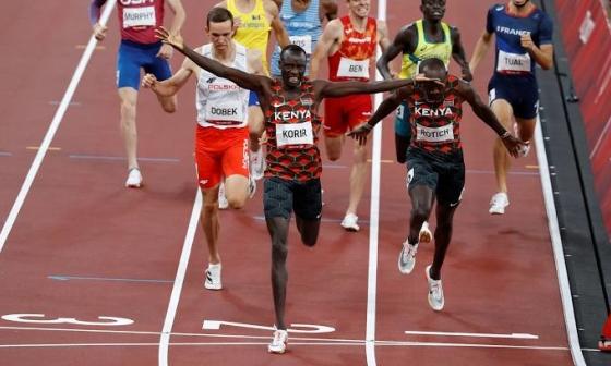 VĐV Kenya đầu tiên giành HC vàng điền kinh tại Tokyo 2020