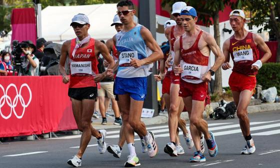 VĐV Italy giành HC vàng đi bộ 20km Olympic