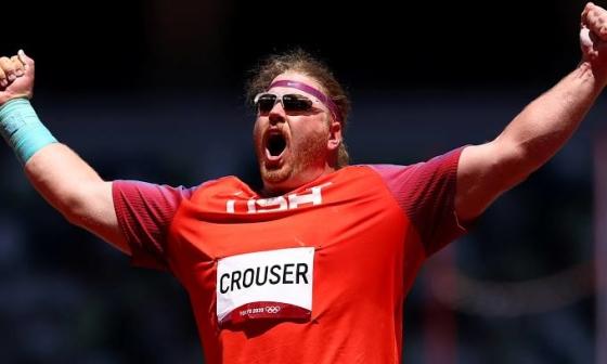 Lực sĩ Mỹ tự phá kỷ lục ném tạ Olympic