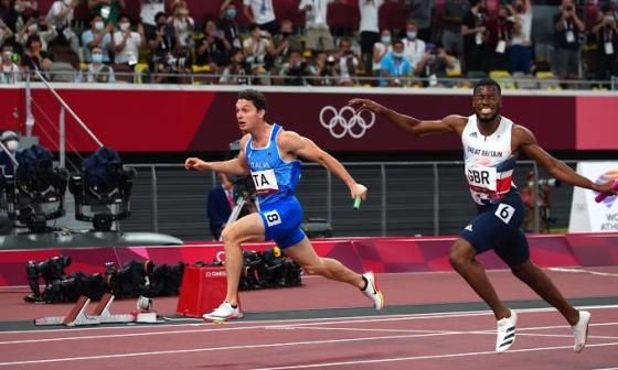 Italy thắng nội dung tiếp sức 4x100m nam Tokyo 2020