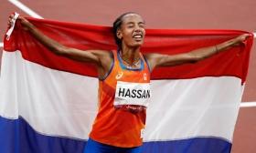 Nước rút ngoạn mục giúp Sifan Hassan đoạt HC vàng 10.000m