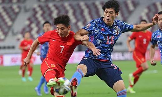 Trung Quốc 0-1 Nhật Bản