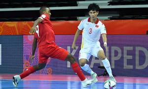 Việt Nam bùng hy vọng vào vòng 1/8 futsal World Cup