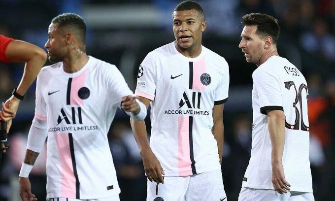 Cựu cầu thủ PSG: 'Messi, Neymar, Mbappe tự kìm chân nhau'