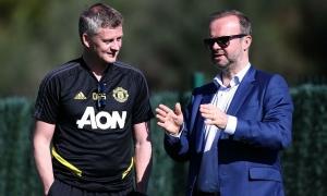 Ed Woodward: 'Man Utd đang đi đúng hướng với Solskjaer'