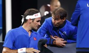 Toni Nadal: 'Federer, Nadal thở phào nhờ Djokovic thua'