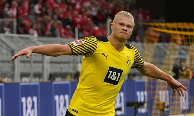 Haaland ghi bàn trận thứ bảy liên tiếp