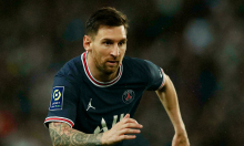 Báo Pháp chấm Messi điểm 6 ở trận gặp Lyon