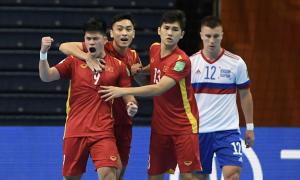 Bàn gỡ của Việt Nam là 'của hiếm' trong futsal