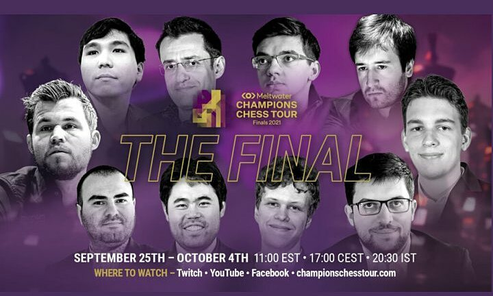 Vòng chung kết Champions Chess Tour khởi tranh hôm nay