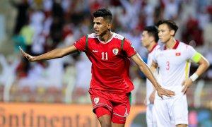 Việt Nam thua ngược Oman