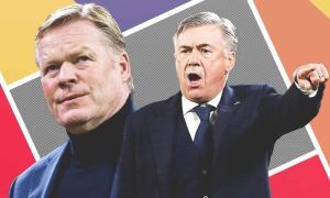 El Clasico - điểm hẹn sau 18 năm của Koeman và Ancelotti