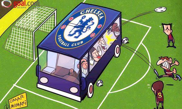 Vì sao bóng đá có chiến thuật 'Dựng xe buýt'?