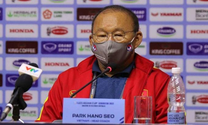 HLV Park thất vọng với chiến thắng của U23 Việt Nam